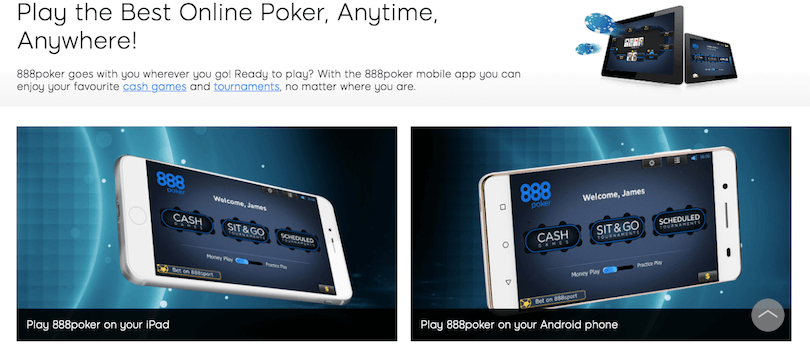 888 Poker - Best Poker Apps