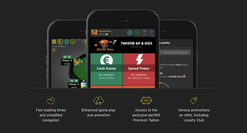Bet 365 - Best Poker Apps