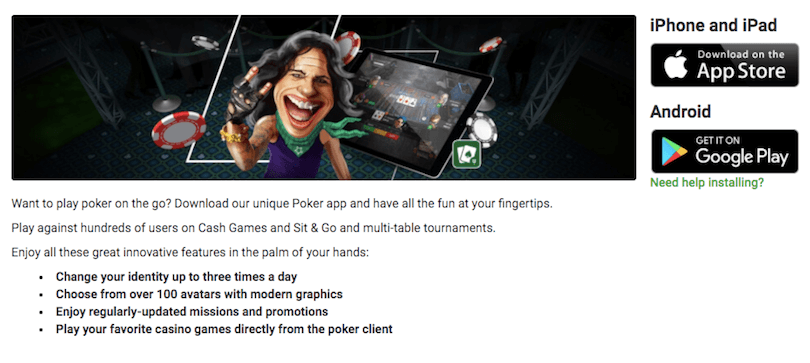 Unibet - Best Poker Apps