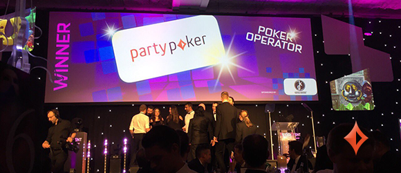 EGR Awards 2017 – Party Poker Creates an Upset and Takes the Poker Operator of the Year Award