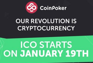 CoinPoker Launches Their Stage I ICO on January 19th