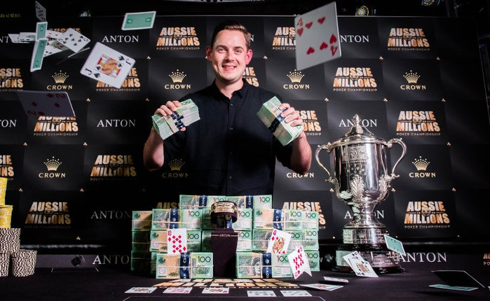 Brit Toby Lewis Crowned as the 2018 Aussie Millions Champion