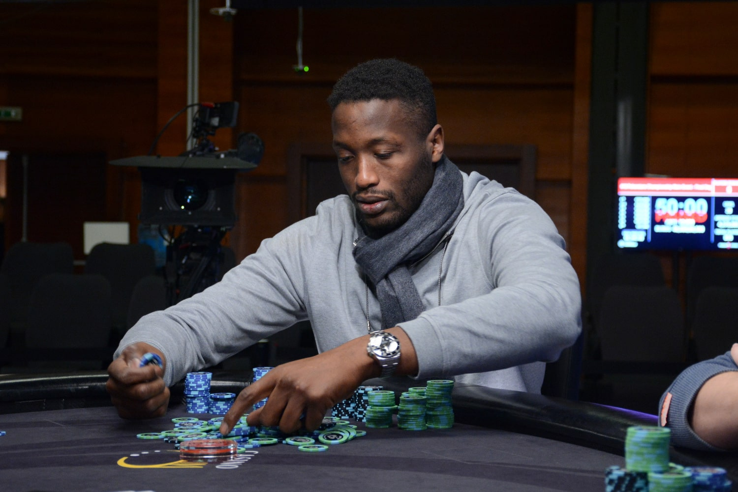 Kalidou Sow is the 2018 PokerStars London Festival Champion