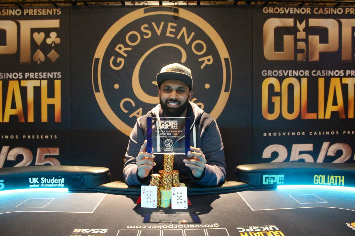 Adam Lulat is the Winner of the GUKPT Manchester Main Event