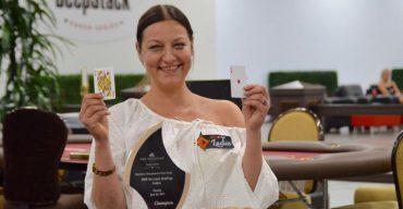 Sylvia Hewitt Walks away with $23.000 after Venetian Deepstack