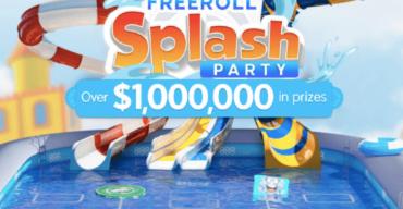 888poker's New Splash Party Promotion Brings $1M in Freerolls