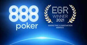 "888poker Receives Award for ""Poker 8"" Software Promotion"